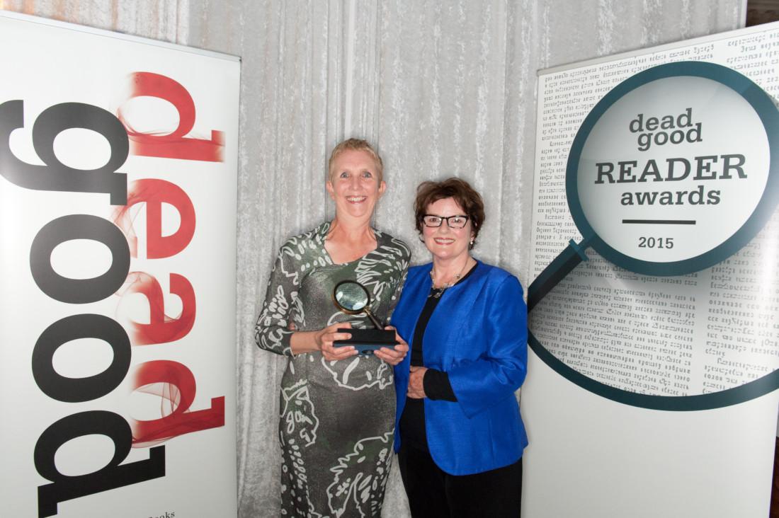 Dead Good Book Awards 2015 - Photo by Barney Allen