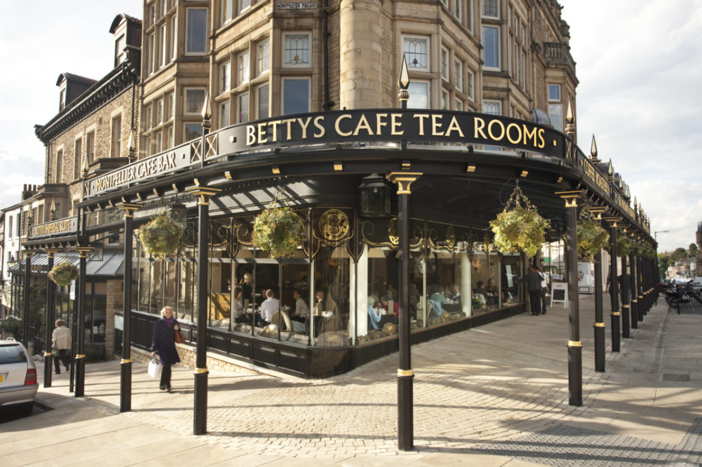 Bettys Cafe - Harrogate