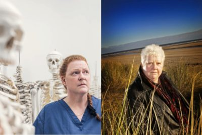 Val McDermid and Sue Black