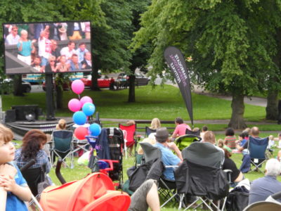 Big Screen with Audience 2012