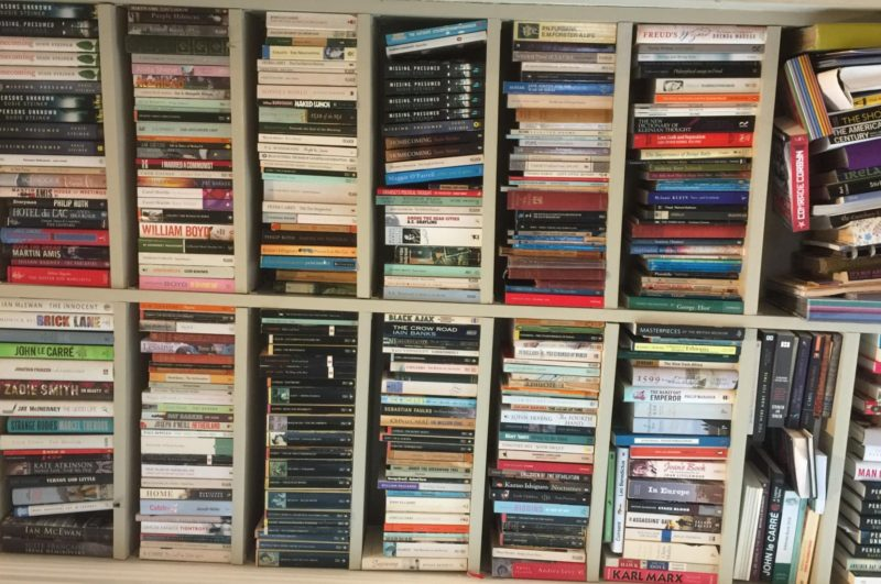 Susie Steiner Whats on your bookshelf Picture
