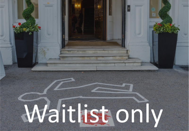 Waitlist - Author Dinner - Chalk Outline