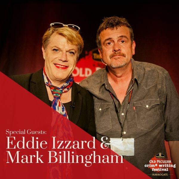 Mark Billingham In Conversation With Eddie Izzard